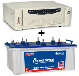Microtek Combo (Microtek Power 3024 - 100Ah Tubular Battery + Microtek SEBZ 700 UPS)