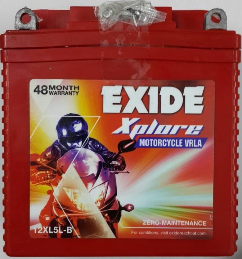 EXIDE 12XL-5LB